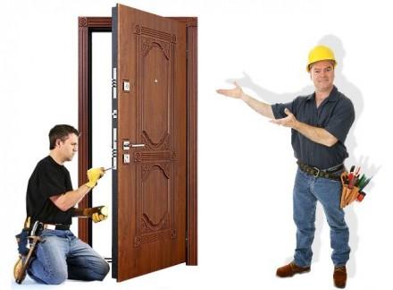 Установка входных и межкомнатных дверей.. Черкассы. фото 1