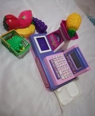 Касса детская для игры в магазин. Желтые Воды. фото 1