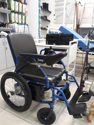 Продам коляску инвалидную электрическую. Днепр. фото 1