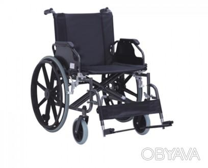 Инвалидная коляска из стали KY951В - 56  Инвалидная коляска из стали (далее «ко. Днепр, Днепропетровская область. фото 1