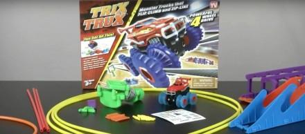 Трек Машинка Trix Trux Машинка на веревках, конструктор TRIX TRUX.2019. Житомир. фото 1