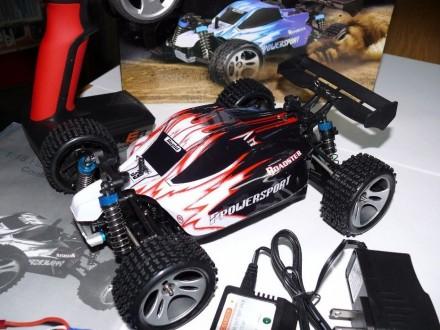 Машинка багги WL-toys A959, полный привод 4X4 , скорость 50 км/ч. Львов. фото 1