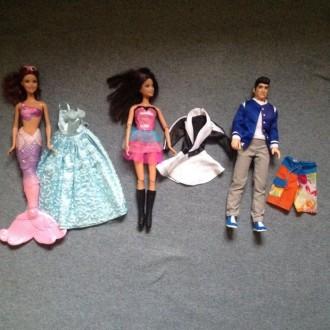 Кукла Барби,кукла Кен-друг Барби,принцесса Русалочка (Mattel). Киев. фото 1