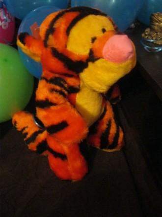 Мягкая игрушка Тигра из диснеевского мультика про Винни Пуха. Тростянец. фото 1