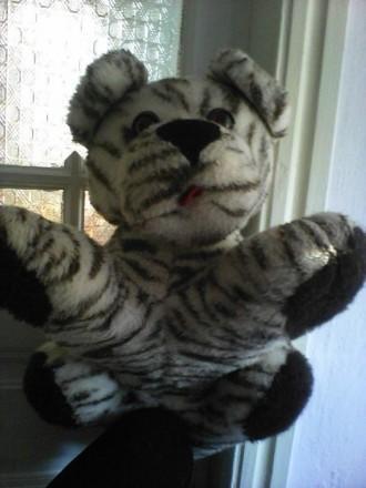игрушка мягкая большая тигр. Херсон. фото 1