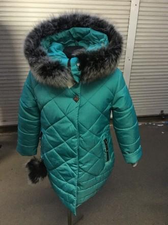 Пальто для девочки. Киев. фото 1