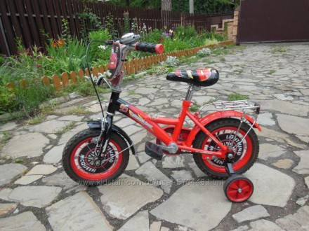 Продам детский велосипед с молнией Макквином. Буча. фото 1