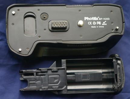 Pentax BP-K20D Батарейный блок бустер для камер K10D\K20D.. Киев. фото 1