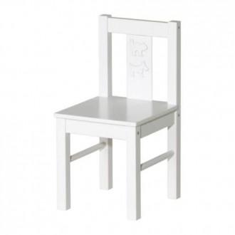 ИКЕА КРИТТЕР Детский стул, белый. Киев. фото 1