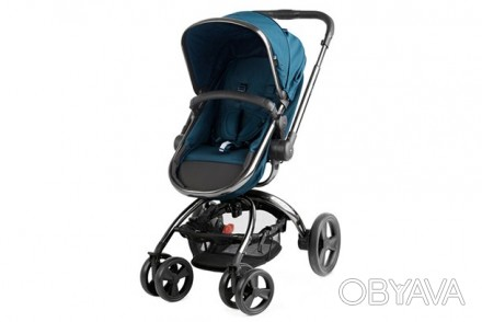 Коляска совмещает в себе функции коляски для новорожденных и прогулочной коляски. Одесса, Одесская область. фото 1