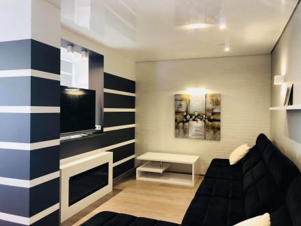 Укомплектована нова квартира з дизайнерським ремонтом.  Усе нове 12000+ ліч П. Автовокзал, Ровно, Ровненская область. фото 12