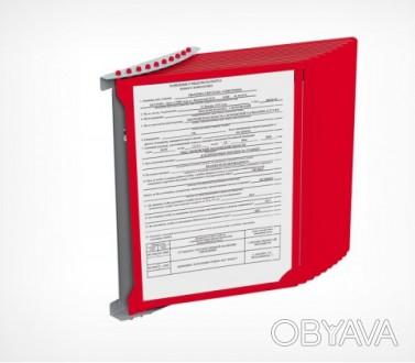 Стенд перекидна система на 10 рамок на стіну куточок споживача уголок