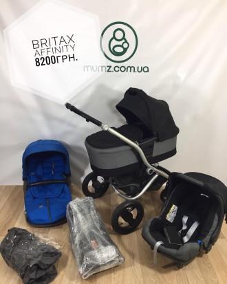Britax Affinity приятно порадует своим стильным вешним видом, отличными ходовыми. Сумы, Сумская область. фото 2