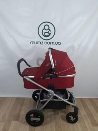 Детская коляска 2 в 1 Nuna Ivvi (Голландия) ! Anex Cybex Mutsy. Сумы. фото 1