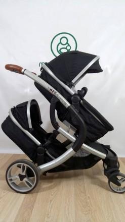 Детская коляска 2 в 1 для двойни iSafe (Англия) Качество супер!. Сумы. фото 1