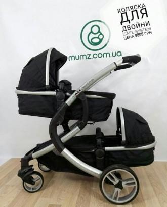 Крутая колясочка для двойни или погодок!!! Так же можно использовать как одиночн. Сумы, Сумская область. фото 8