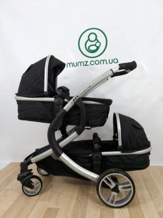 Крутая колясочка для двойни или погодок!!! Так же можно использовать как одиночн. Сумы, Сумская область. фото 7