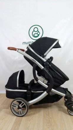 Крутая колясочка для двойни или погодок!!! Так же можно использовать как одиночн. Сумы, Сумская область. фото 3
