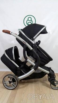 Крутая колясочка для двойни или погодок!!! Так же можно использовать как одиночн. Сумы, Сумская область. фото 1