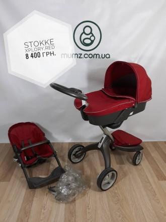 Детская коляска 2 в 1 Stokke xplory, Коляски из Европы. Сумы. фото 1