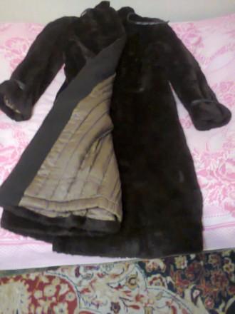 Шуба женская зимняя, искусственный мех, размер 44-46. Запорожье. фото 1