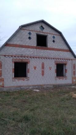 Дом в берестовом Продам или обменяю дом коробку село Берестовое. Бердянск. фото 1