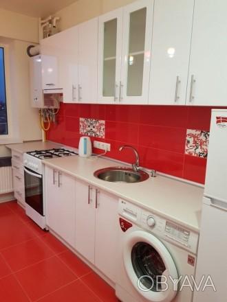 Сдам свою 1 комнотную квартиру на малиновского, после евроремонта,все новое, нат. Одесса, Одесская область. фото 1