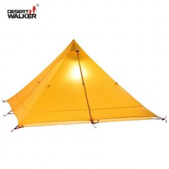 Легкоходная палатка ПИРАМИДА 720 грамм. Самая легкая двухместная палатка. 183a1378be24a