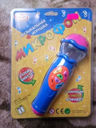 Музыкальный микрофон. Нетешин. фото 1