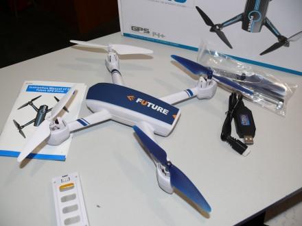 Квадрокоптер JXD-528 с камерой WiFi, GPS удержанием высоты, позиции. Полтава. фото 1