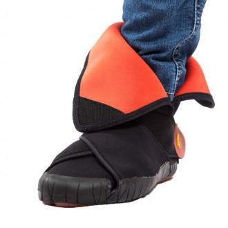 Vibram Furoshiki Neoprene Boot Mid.  Цвет: Черный/Оранжевый. Размеры: XS (36-. Киев, Киевская область. фото 4