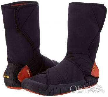 Vibram Furoshiki Neoprene Boot Mid.  Цвет: Черный/Оранжевый. Размеры: XS (36-. Киев, Киевская область. фото 1