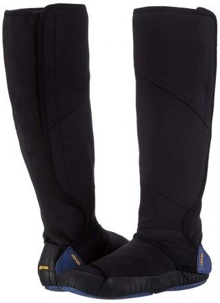 Vibram Furoshiki Neoprene Boot High.  Цвет: Черный/Синий. Размеры: XS (36-37). Киев, Киевская область. фото 2