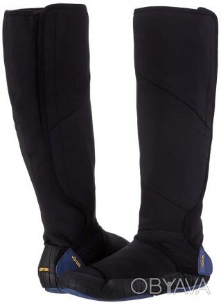 Vibram Furoshiki Neoprene Boot High.  Цвет: Черный/Синий. Размеры: XS (36-37). Киев, Киевская область. фото 1