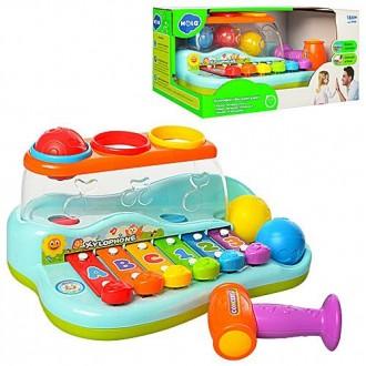 Музичний розвиваюсчий ксилофон логіка. Коломыя. фото 1
