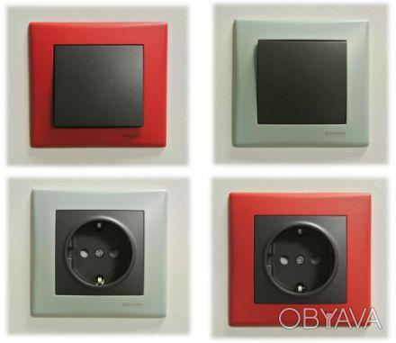 9cd4c097d ᐈ Розетки и выключатели Schneider-Electric Asfora | Sedna | Unica ...