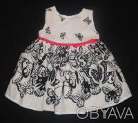 Платье нарядное M&Co 3-6 мес. как новое. Суми. фото 1