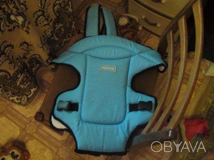Удобный и комфортный рюкзак-кенгуру Womar незаменимый аксессуар для современных . Одесса, Одесская область. фото 1