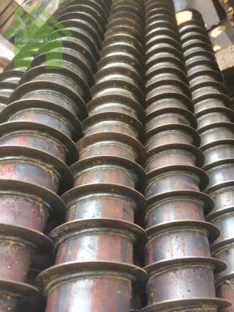 Винтовые сваи многовитковые. диаметр 76 мм, длина 2 м. Сумы. фото 1