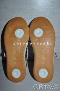 Красивые туфельки-кроссовки с вышивкой  для маленькой модницы - НОВЫЕ -   - ве. Чернигов, Черниговская область. фото 4