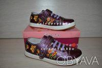 Красивые туфельки-кроссовки с вышивкой  для маленькой модницы - НОВЫЕ -   - ве. Чернигов, Черниговская область. фото 10