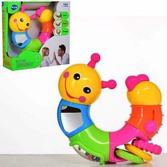 Розваваюча іграшка  гусениця. Коломыя. фото 1