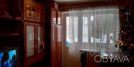 Продам 1-ком квартиру на Кирова,на среднем этаже, не угловая, тёплая, балкон зас. Кировский, Днепр, Днепропетровская область. фото 1
