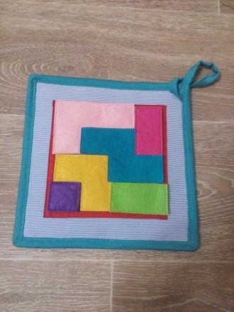Развивающий планшет из ткани фетра. Херсон. фото 1