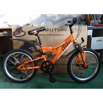 Азимут Блекмаут 20 велосипед спортивный дисковые тормоза Azimut Bleckmount. Хмельницкий. фото 1