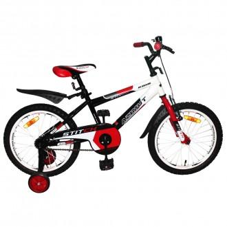 Азимут Стич 12,14,16,18,20 дюйм детский двухколёсный велосипед Azimut Stitch. Хмельницкий. фото 1