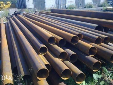 Трубы стальные бу и новые продам.. Днепр. фото 1