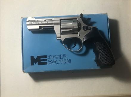 Пістолет Флобер Cuno Melcher ME 38 Magnum 4R(нікель, пластик). Львов. фото 1