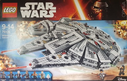 Конструктор Lego Star Wars 75101 Millennium Falcon. Полтава. фото 1