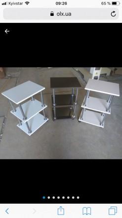 Маникюрные столы,этажерки,полки для гель лаков,столы для визажистов. Весь катало. Херсон, Херсонская область. фото 6